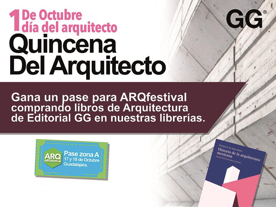 Sorteo > Día del Arquitecto en Librerías Gonvill