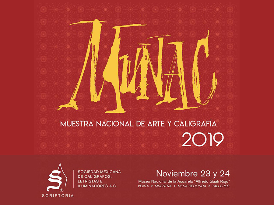 23-24/11 MUNAC Muestra nacional de arte y caligrafía 2019