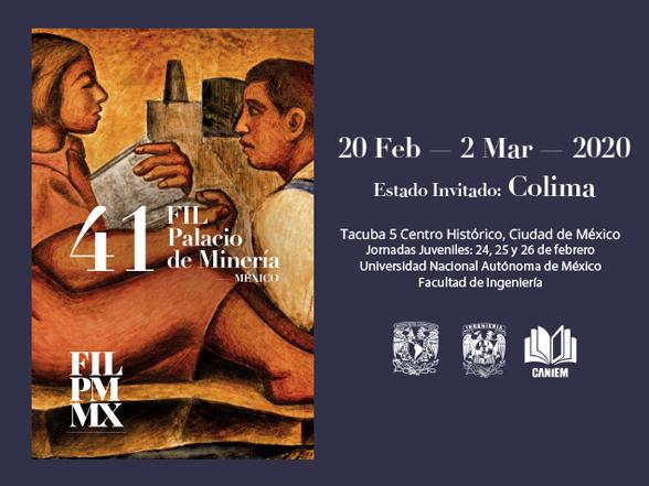 20/02-02/03 41 Feria Internacional del Libro del Palacio de Minería