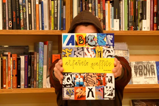 El librero recomienda > Librería Laie cccb (Barcelona): 'Alfabeto graffiti' de Claudia Walde