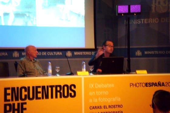 """Crónica > David Pérez y las """"dos caras"""" de Juan Hidalgo en Encuentros PHE"""