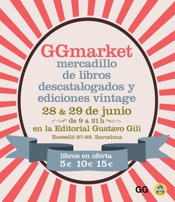 GGmarket, nuestro primer mercadillo de libros