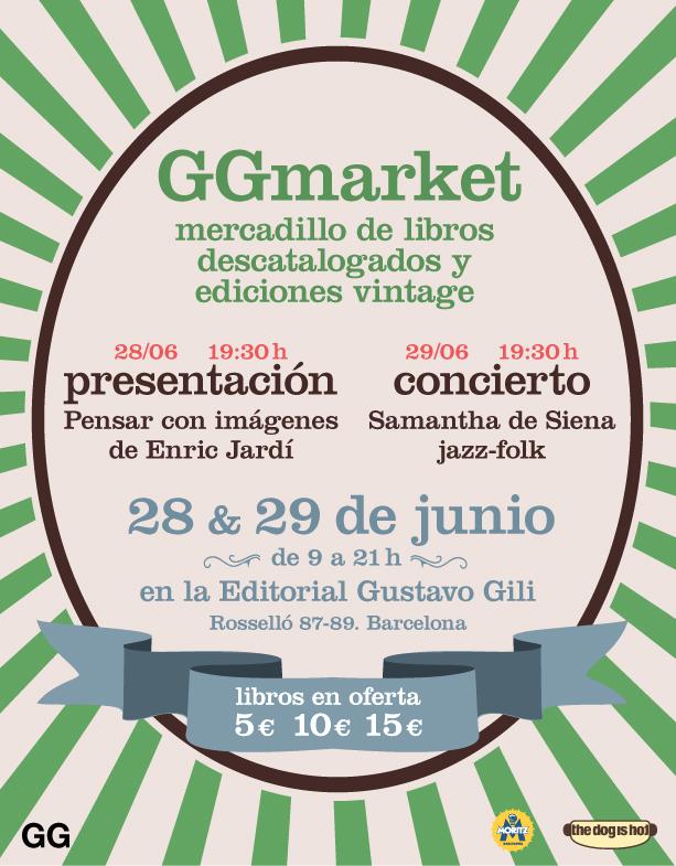 GGmarket, dos días de libros, cerveza y música