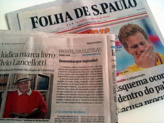 La Editorial Gustavo Gili en la Folha de S. Paulo