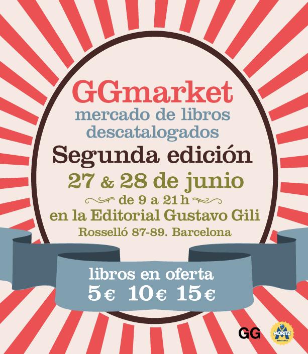 GGmarket, vuelve el mercadillo de libros a 5, 10 y 15€