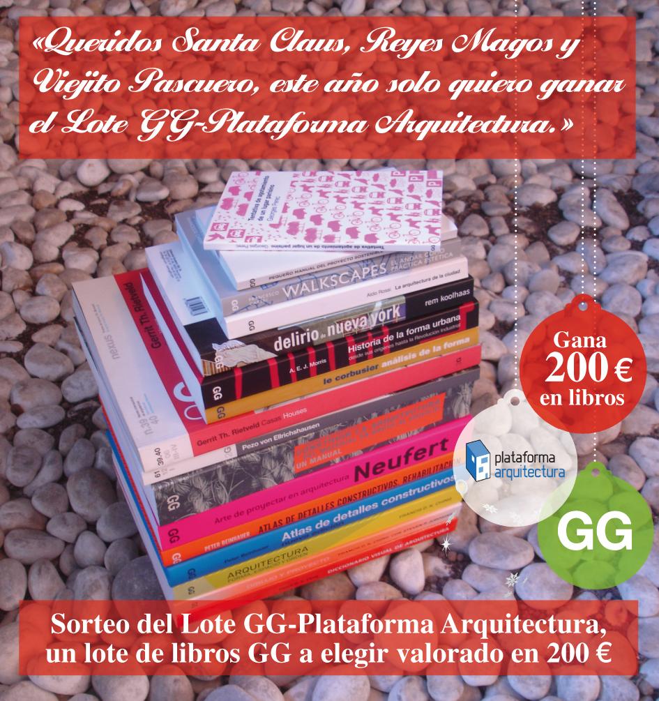 [RESULTADO] SORTEO > Queridos Santa Claus, Reyes Magos y Viejito Pascuero, este año solo quiero ganar el Lote GG-Plataforma Arquitectura