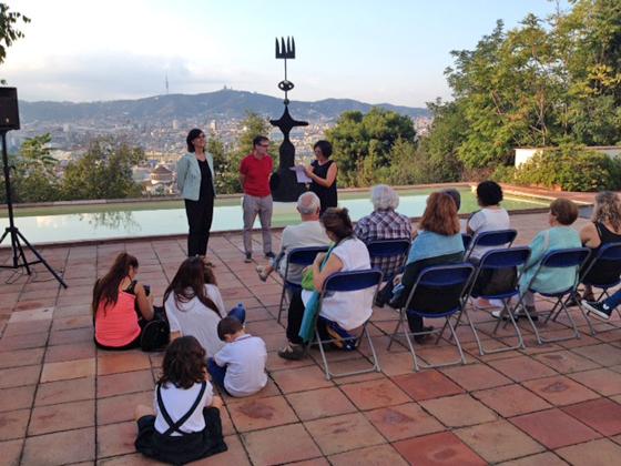 El Abecedario Miró presentado a niños y mayores