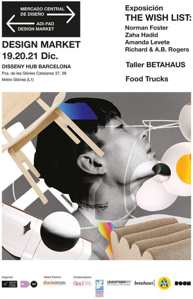 Mercadillo navideño  19-21/12> GG en el Design Market de Barcelona