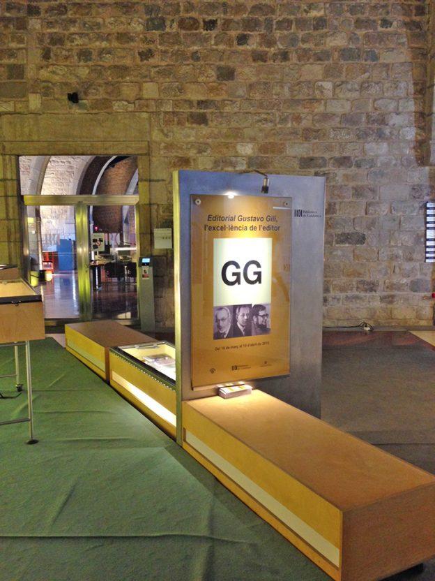 La Biblioteca de Catalunya dedica una exposición monográfica a la Editorial Gustavo Gili