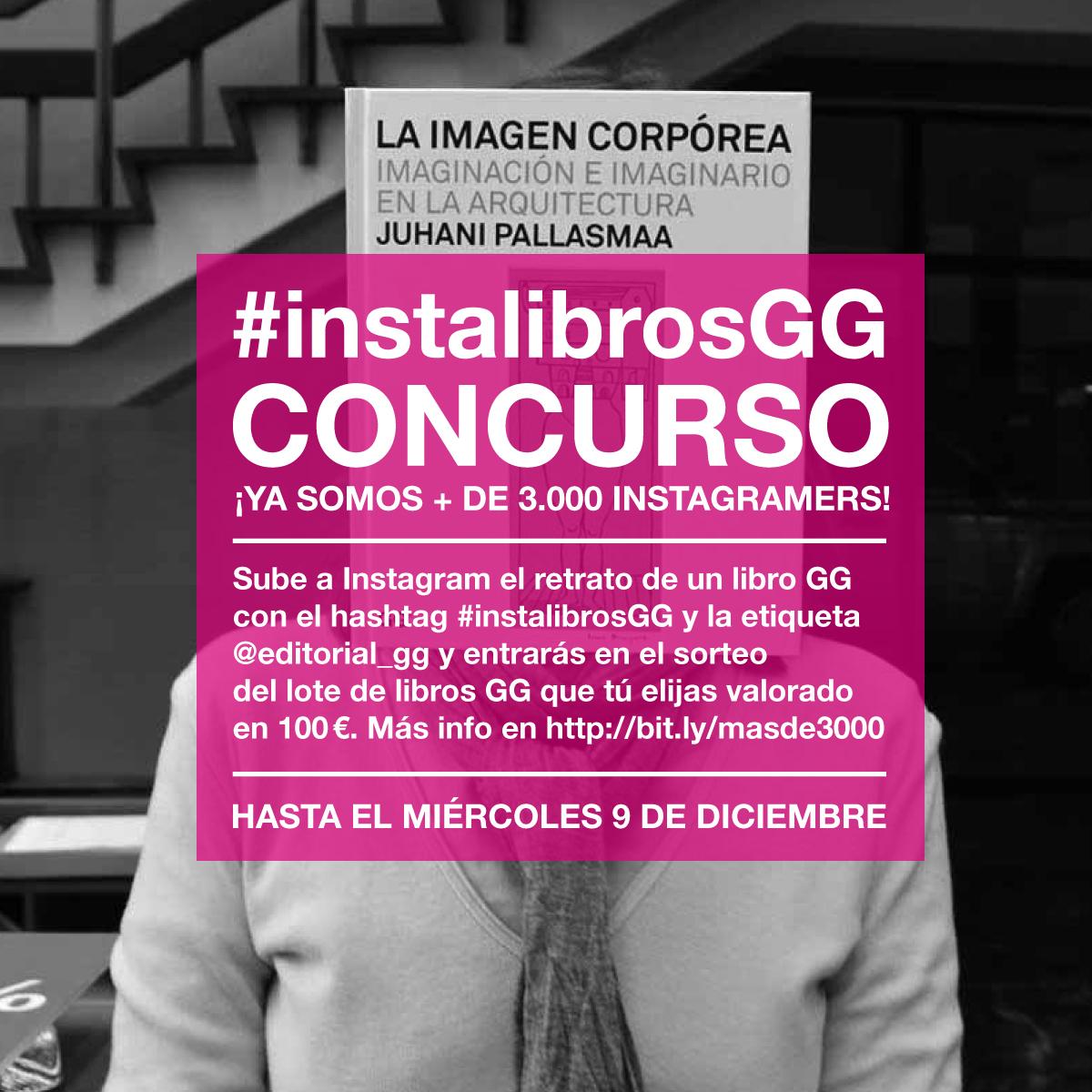 [RESULTADO] Concurso #instalibrosGG: ¡Ya somos más de 3000 instagramers!
