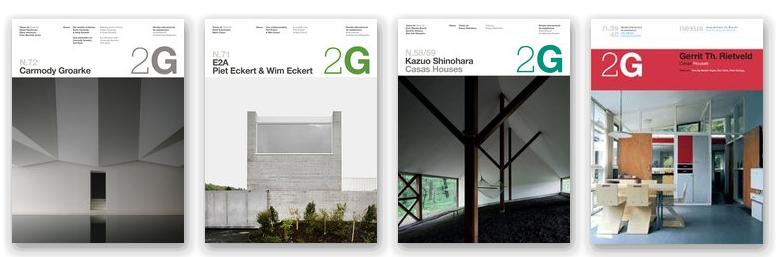 La Editorial Gustavo Gili cede el testigo de la revista 2G a la editorial Walther König