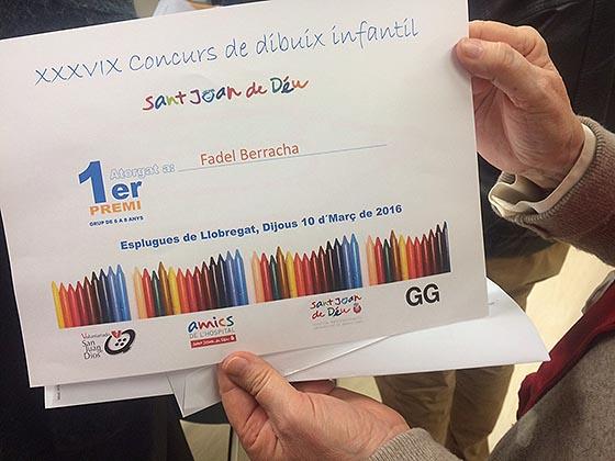 Misión cumplida: el concurso de dibujo del Hospital Sant Joan de Déu ya tiene ganadores