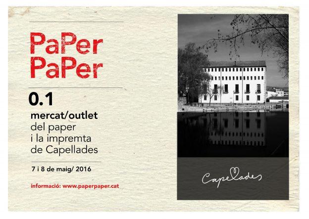 GG en PaPer PaPer, el primer mercado/outlet del papel y la imprenta