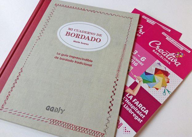 [RESULTADO] SORTEO > Gana una entrada doble para Creativa Barcelona 2016 y un ejemplar de... Mi cuaderno de bordado!