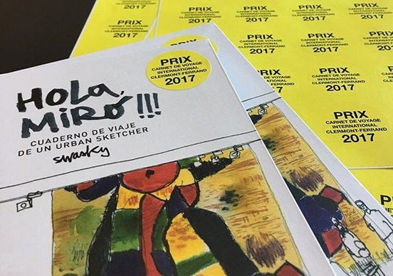 Presentación 3/02 > Swasky presenta 'Hola Miró!!!' con un recorrido por la Fundació Miró de Barcelona