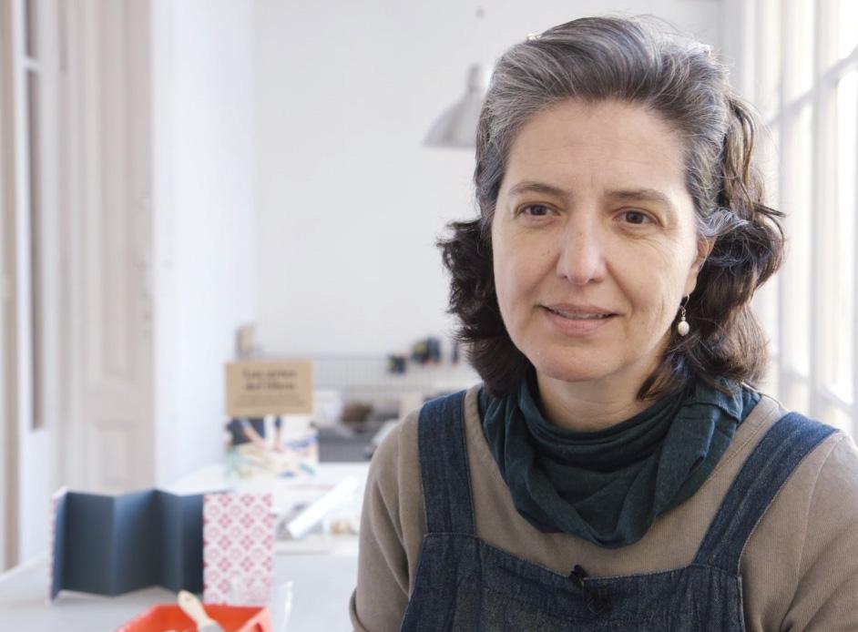 'Las artes del libro' aterriza en en taller de la artista Ximena Pérez Grobet