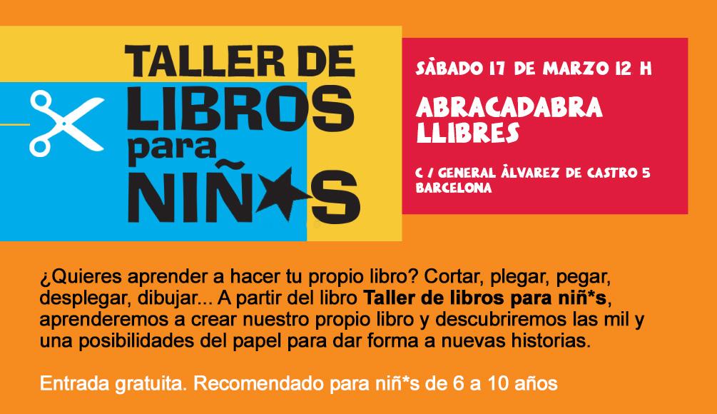17/03 > Taller de libros para niñ*s en la librería Abracadabra