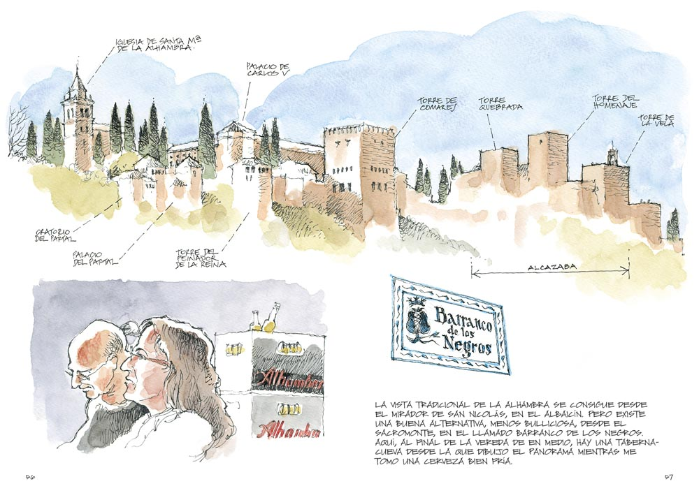 19/05 > Club de lectura del 'Cuaderno de la Alhambra' en Málaga