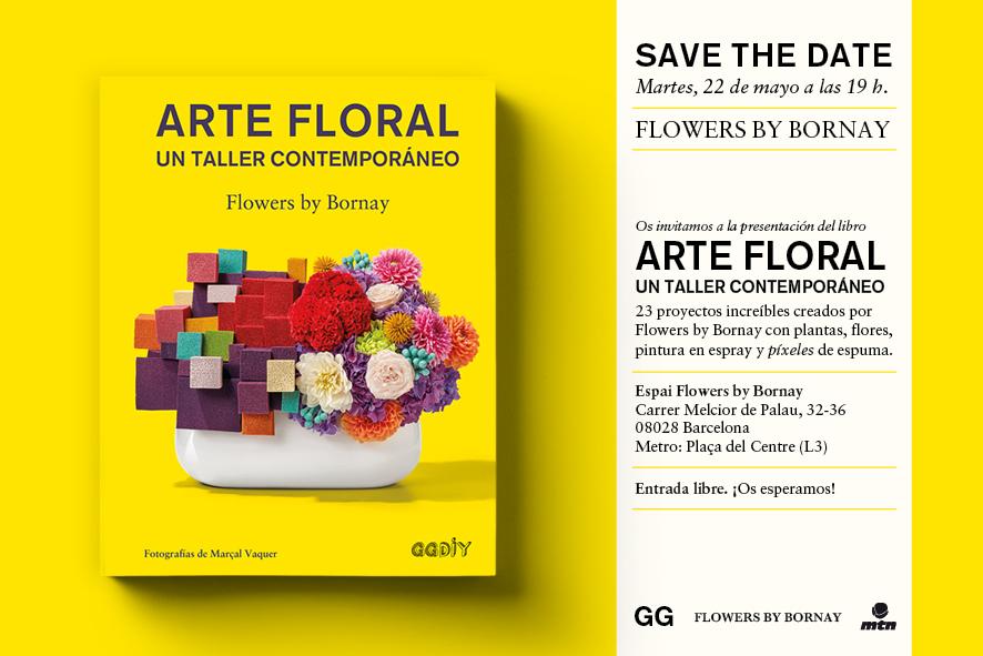 22/05 > ¡Presentamos 'Arte floral' en el espacio Flowers by Bornay!