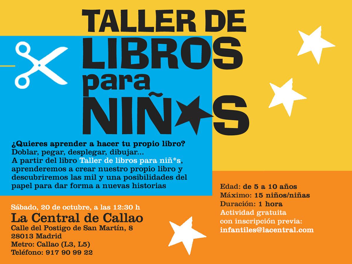 20/10 > Taller de libros para niñ*s en La Central de Callao