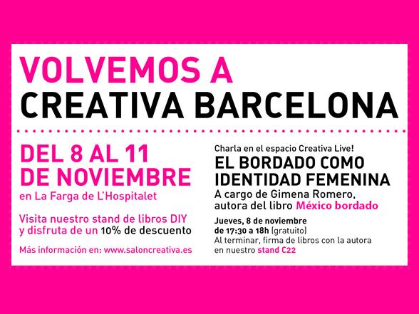 8-11/11 > ¡GG vuelve al salón Creativa!