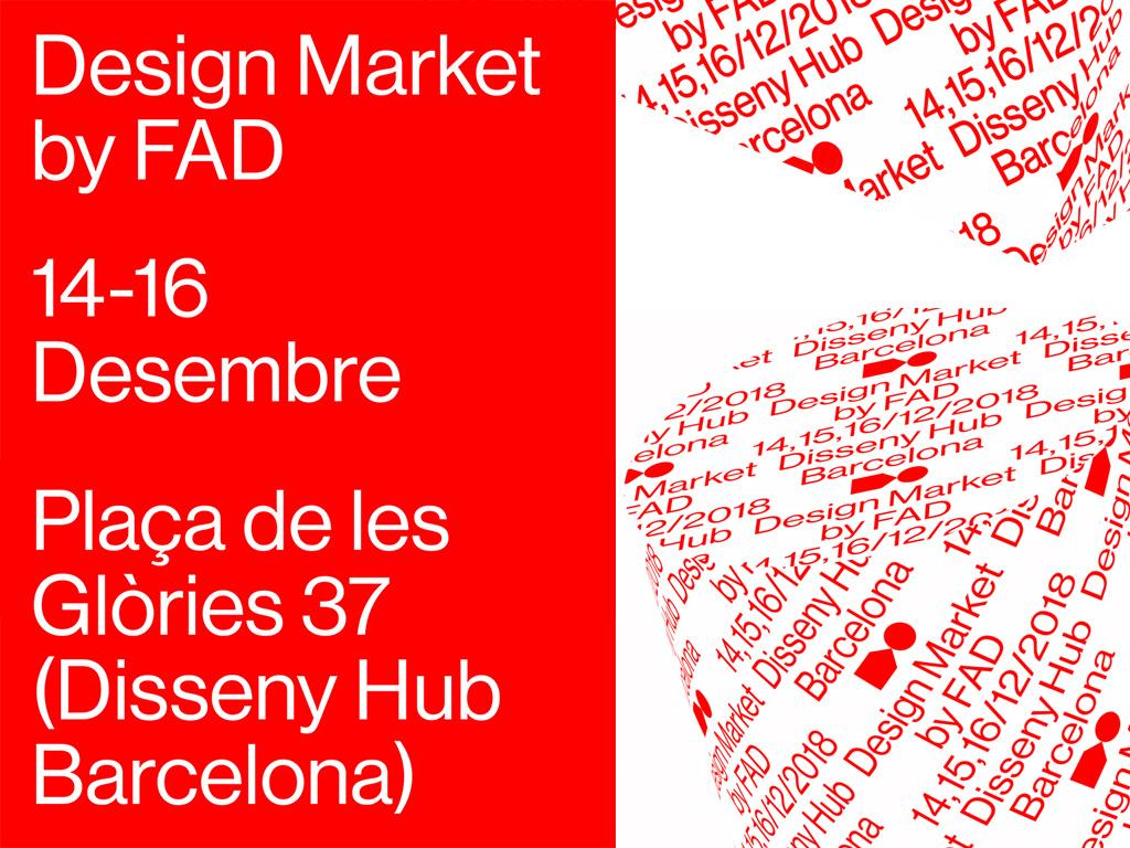 14-16/12 ¡Un año más estaremos en el Design Market by FAD!