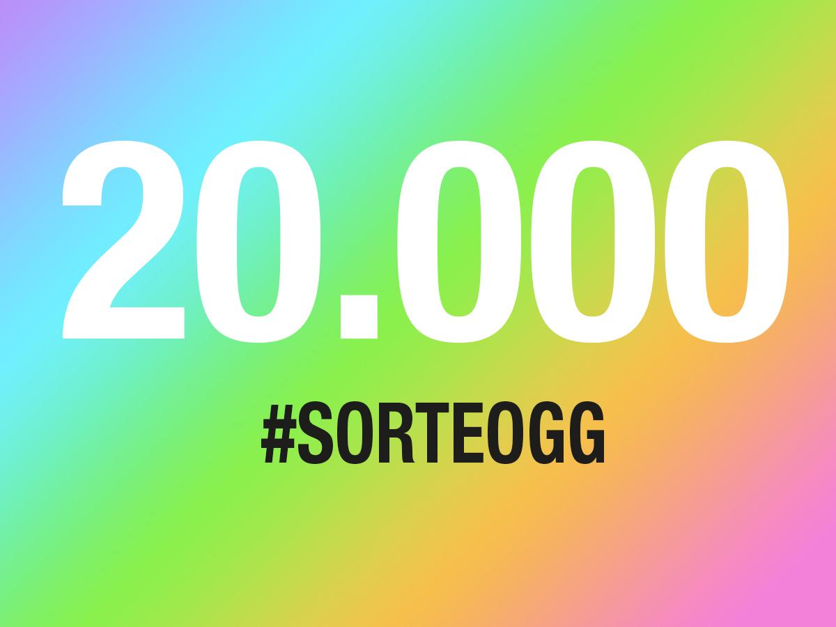 SORTEO > ¡Más de 20.000 seguidores en Instagram!