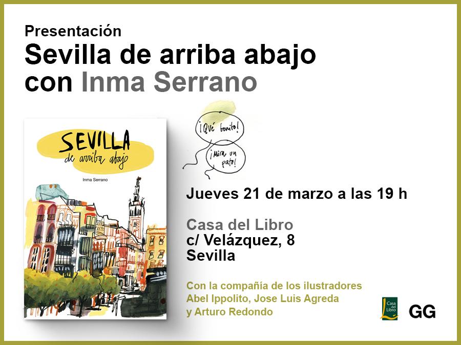 21/03 Inma Serrano presenta su cuaderno de viaje en Sevilla