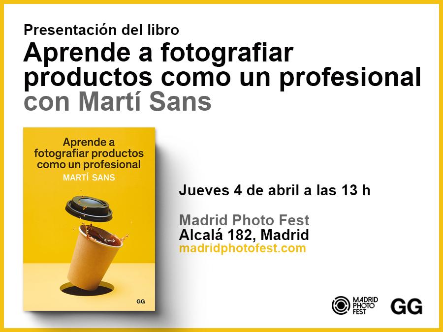 04/04 Martí Sans presenta su libro en el Madrid Photo Fest