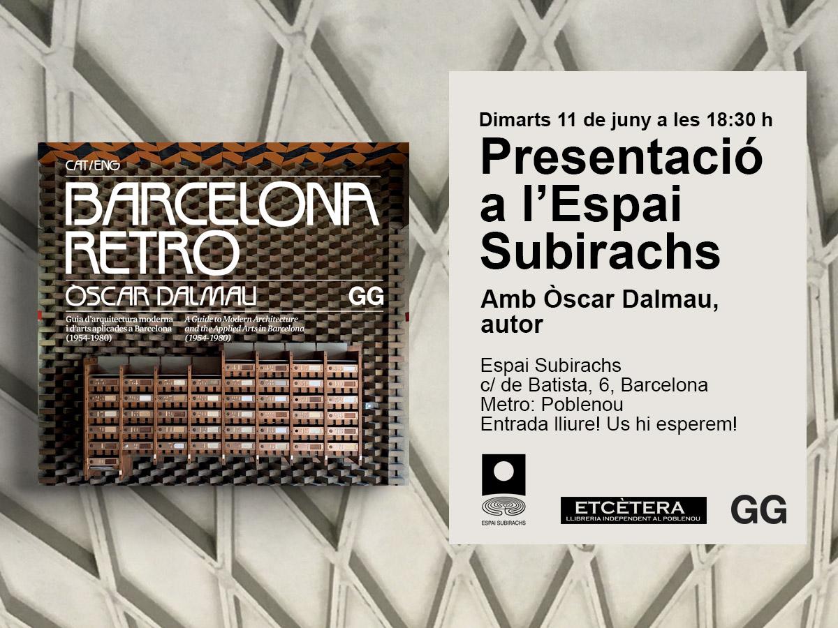 11/06 'Barcelona retro' en el Espai Subirachs