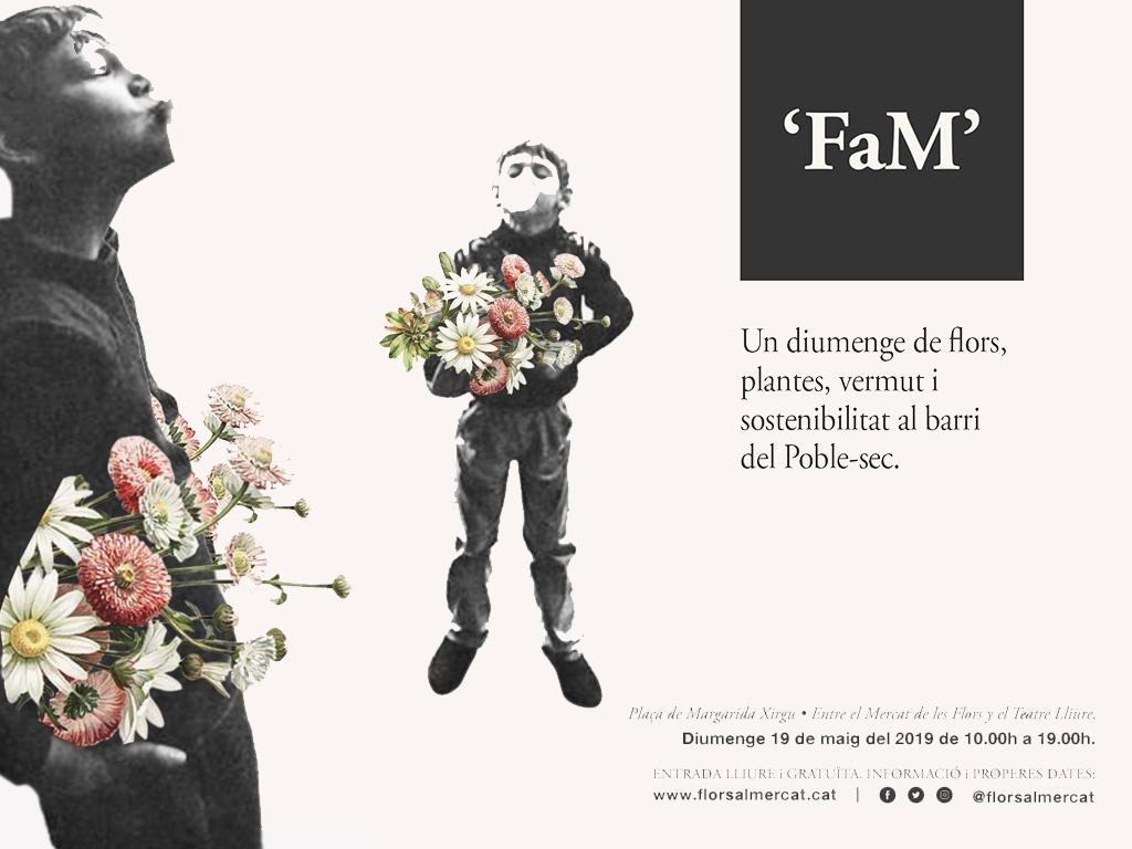 19/05 GG en Flors al Mercat, un domingo de flores y vermut en Barcelona