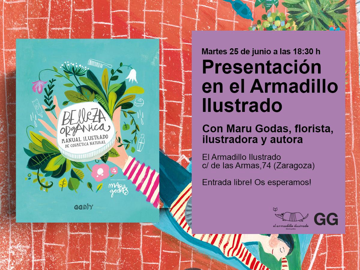 25/06 Presentación de 'Belleza orgánica' en el Armadillo Ilustrado de Zaragoza