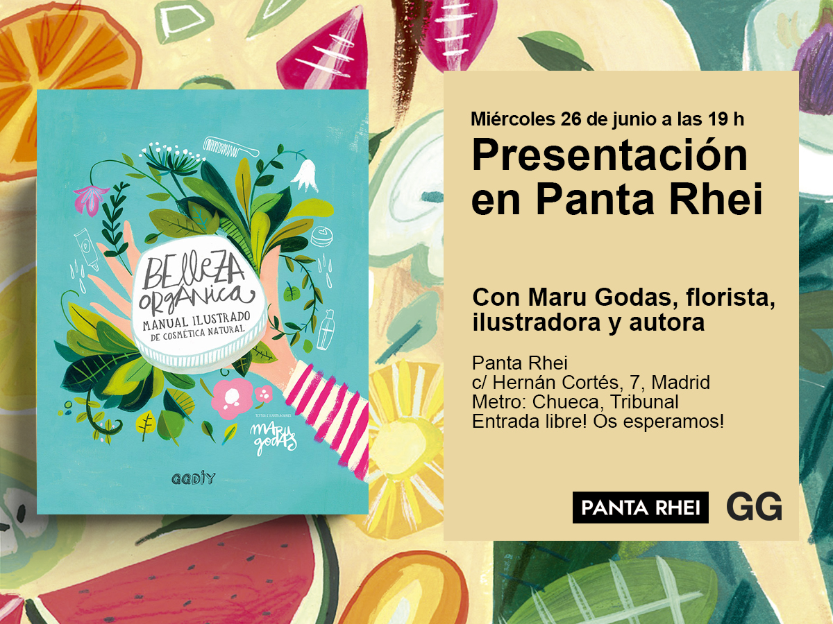 26/06 Presentación de 'Belleza orgánica' en Panta Rhei