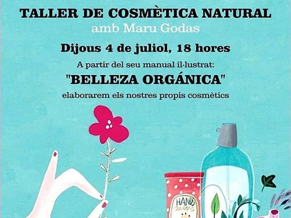 04/07 Taller de cosmética natural con Maru Godas y L'Aranya de Cerdanyola