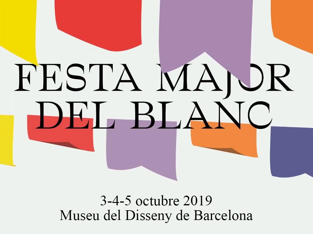 3-4-5/10 La Editorial Gustavo Gili en el Blanc Festival 2019