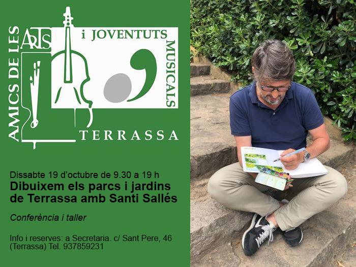 19/10 Conferencia de Santi Sallés en Terrassa