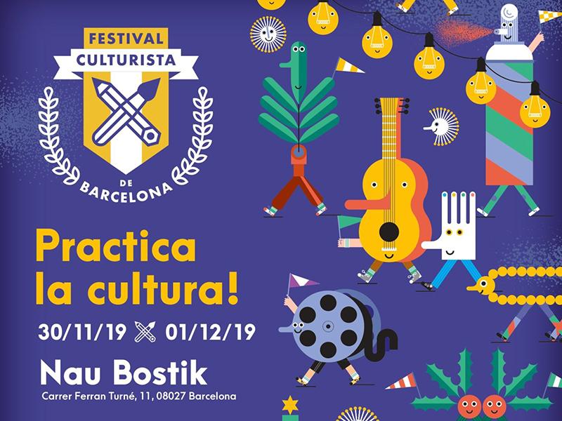 30/11-1/12 Festival Culturista 2019
