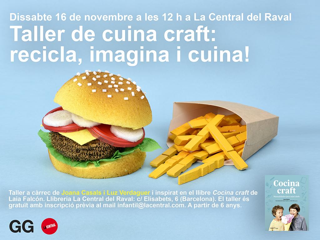 16/11 Taller de 'Cocina craft' en La Central del Raval de Barcelona