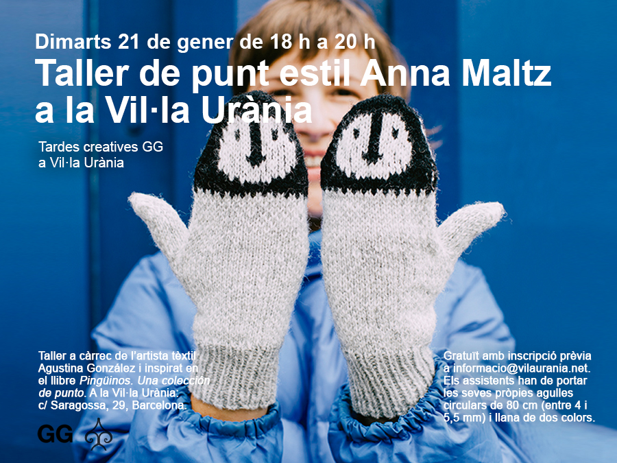 21/01 Taller de punto al estilo Anna Maltz en Vil·la Urània
