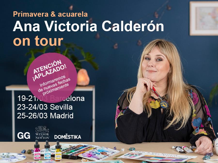 *APLAZADO* Ana Victoria Calderón on tour! Del 19 al 26 de marzo en Barcelona, Sevilla y Madrid