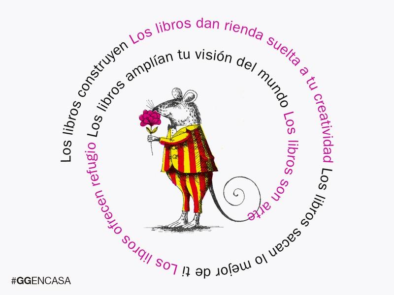#GGENCASA 09 > ¡Bona Diada de Sant Jordi y Feliz Día del Libro! Celebramos el 23 de abril regalándote la historia de la editorial